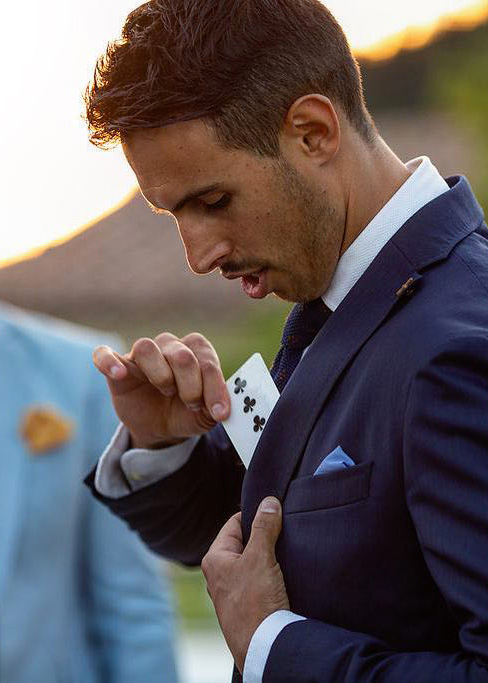 manuel magic trick cards wedding matrimoni
